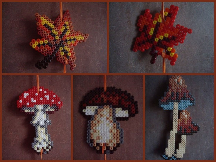 Herbst Autumn hama beads