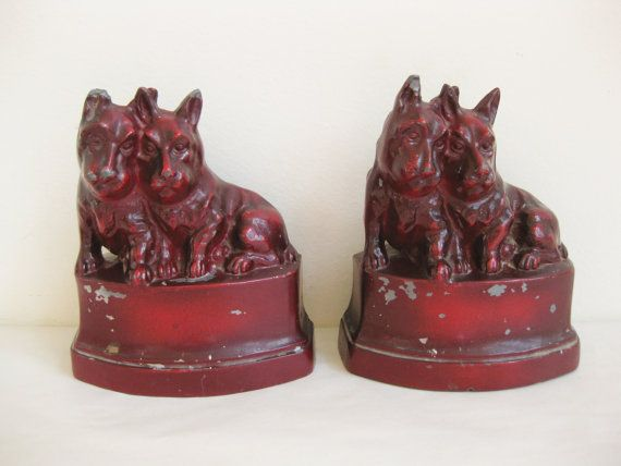 NuArt Creations Scottish Terrier Bookends Scottie by FreeLiving,