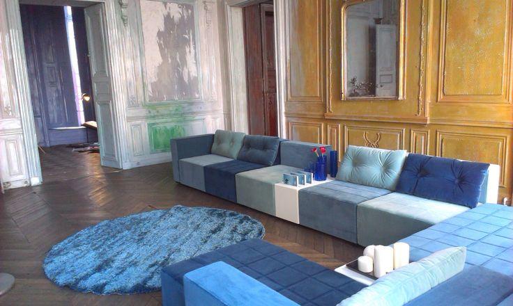 Monolite sofa & table, design: Sandin & Bülow