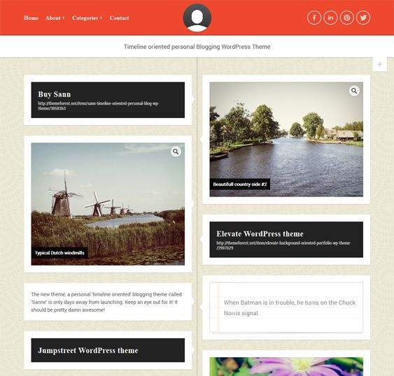 8 best 8 of the Best Timeline WordPress Themes images on Pinterest - timeline website template