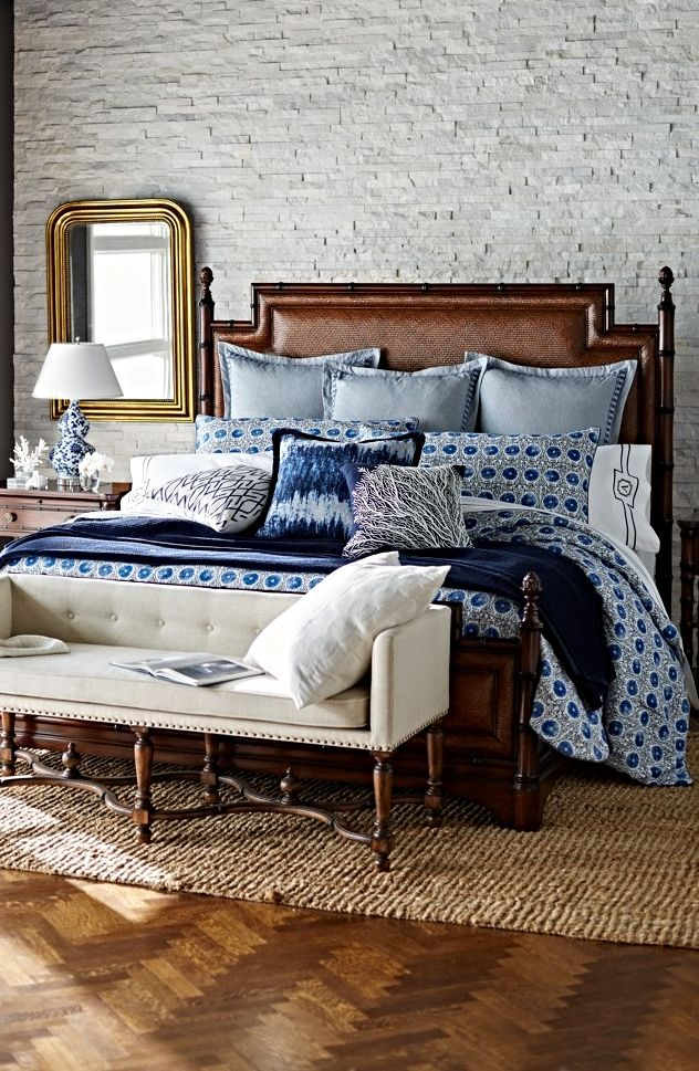 Sleep By The Sea Even If Youu0027re Landlocked, With Our Saybrook Bedding  Collection. Navy BedroomsMaster ...