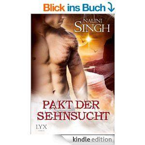 """Ulla Liebt Bücher  : """"Pakt der Sehnsucht"""" von Nalini Singh"""