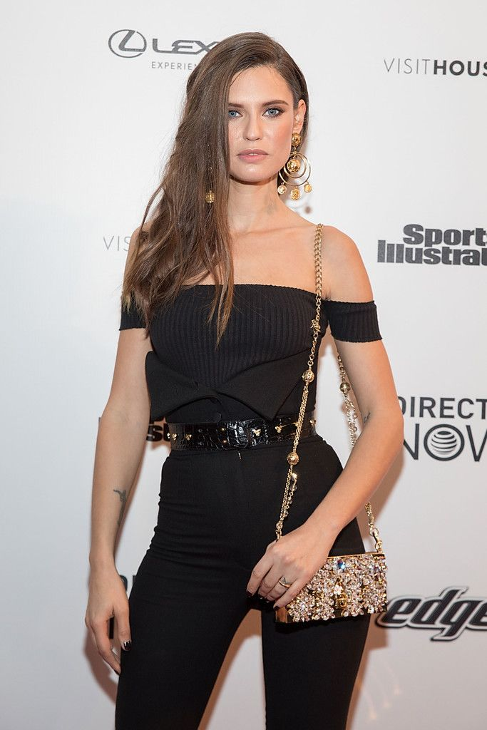 SI Swimsuit model Bianca Balti attends the VIBES by Sports Illustrated Swimsuit 2017 launch festival on February 18, 2017 in Houston, Texas.
