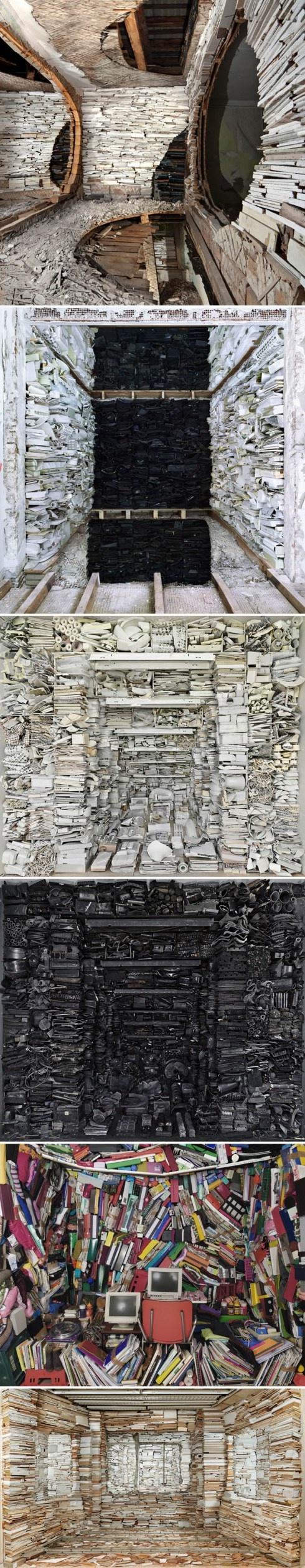 Marjan Teeuwen: Crammed Spaces