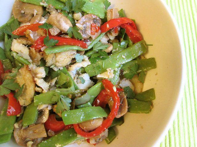 As receitas lá de casa: Salteado de bacalhau com feijão-verde
