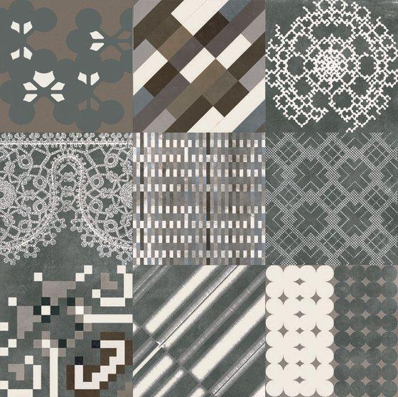 Azulej combination nero by Ceramiche Mutina   Architonic