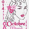 Octobre rose 2014 - - Amies Brodeuses & C