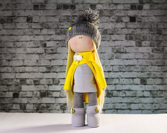 Doll Laura. Tilda doll. Fairy doll. Textile doll. Soft от OwlsUa