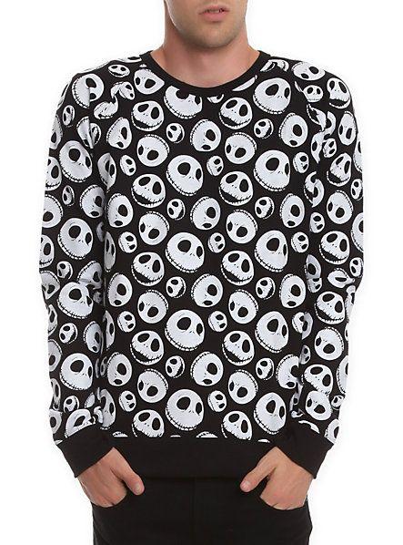 The Nightmare Before Christmas Jack Skellington Sweatshirt | My type of christmas sweater
