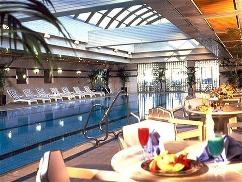 Intercontinental Seoul Coex Guests May Also Enjoy The Fitness Center Indoor Pool Outdoor Spa