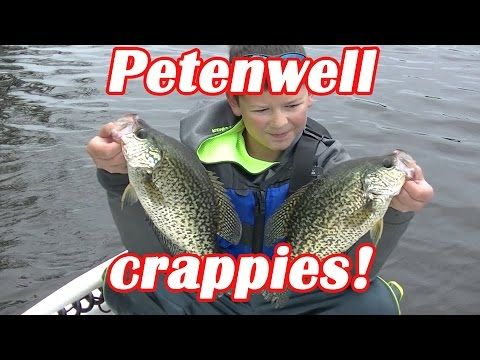 petenwell fall crappies!! - YouTube