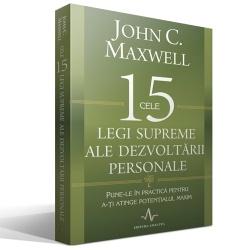 Cele 15 legi supreme ale dezvoltarii personale   http://www.catalog-cursuri.ro/ArticolBiblioteca-Cele_15_legi_supreme_ale_dezvoltarii_personale-Resursa-56.html