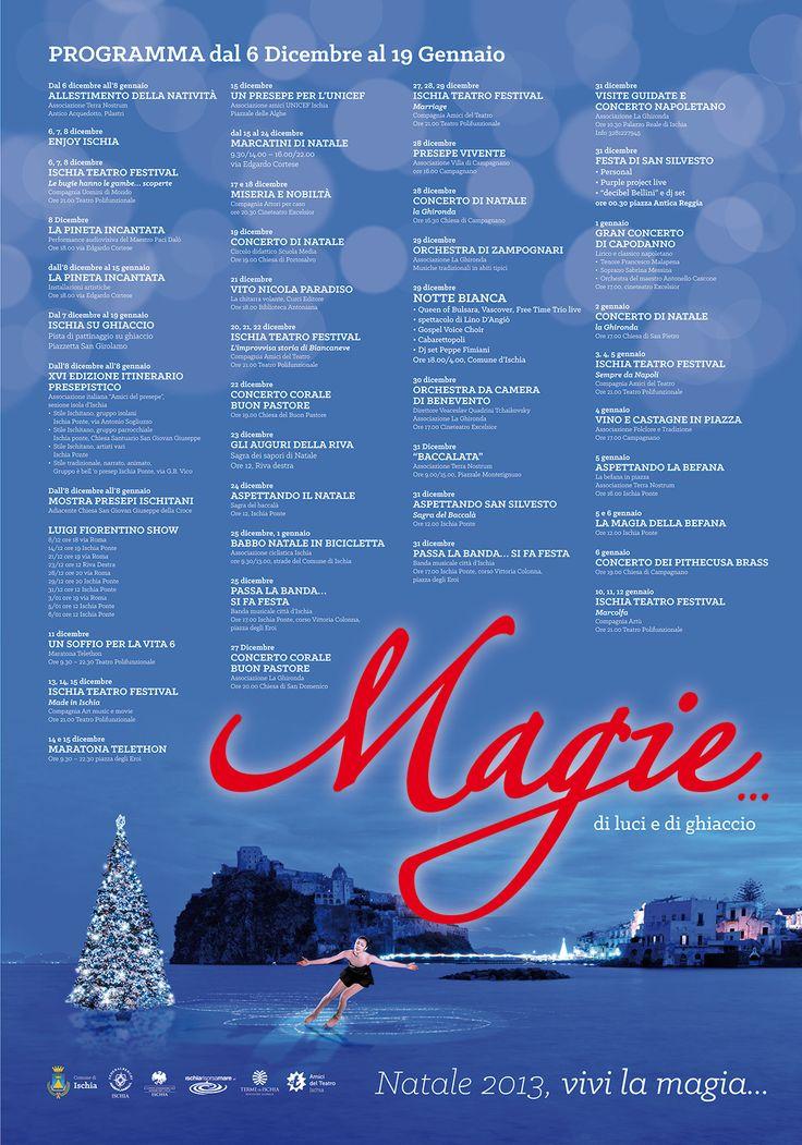 Fresco di stampa ecco il programma delle attività durante le prossime festività natalizie.  Beh, il pattinaggio (su ghiaccio) in piazza è sicuramente una novità...