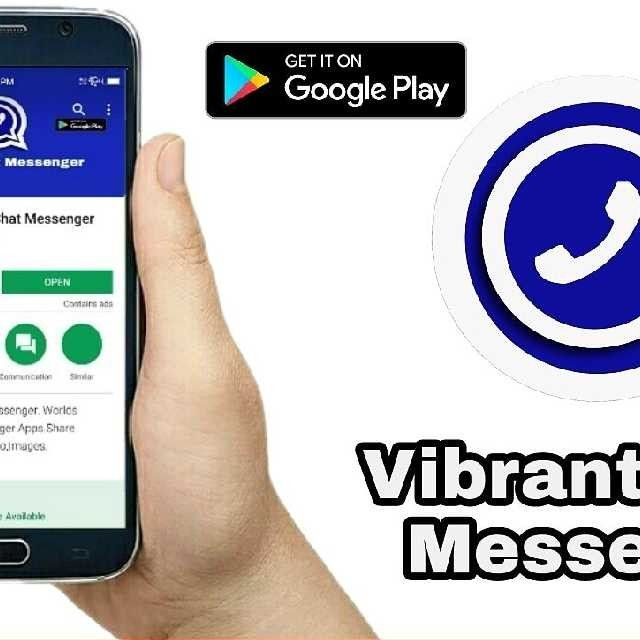 World's Fastest Messenger App *Vibrant chat Messenger* : https://play.google.com/store/apps/details?id=com.wVibrantchat3 • it is totally free app • Add 1,00,000 Members in One Group. • Secret Chat future, chat with your friends •Many Much Best emoji and emotional stickers, • share with your friends unlimited file, folder, images, text messages, Audio, Video, etc.. • Fastest Messenger app • Customize your supportable text font size. • Select your best picture and any images in chat background…