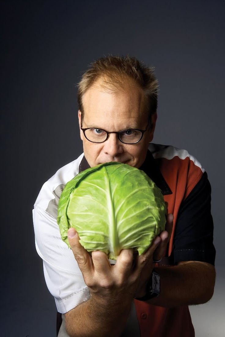 Alton Brown's Four Lists Eating Plan that helped him lose 50 lbs ~ Cabbage is Healthy!!