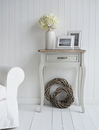 Bridgeport Grey Living Room Small Console Table For Living Room Furniture Country Cottage Living Room