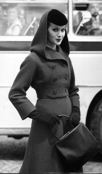 Hooded suit, 1956