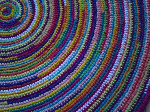 """Über 1000 Ideen zu """"Gehäkelte Teppiche auf Pinterest"""