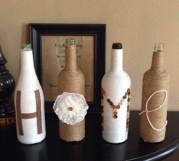les 25 meilleures id es de la cat gorie bouteilles ficelle sur pinterest bouteille plastique. Black Bedroom Furniture Sets. Home Design Ideas