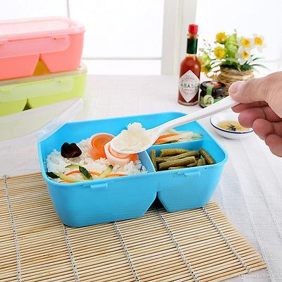 children-student-High-Heat-Resistance-microwave-oven-Plastic-Bento-Lunch-Box