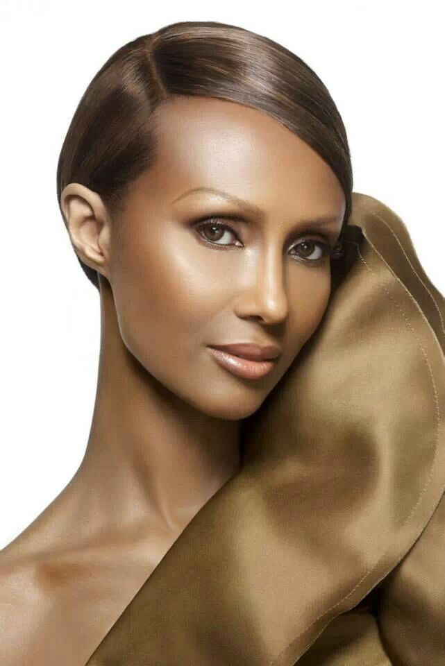 Iman-model, clothing designer (QVC star); manufacturer of wigs and cosmetic. She's a business mogul!