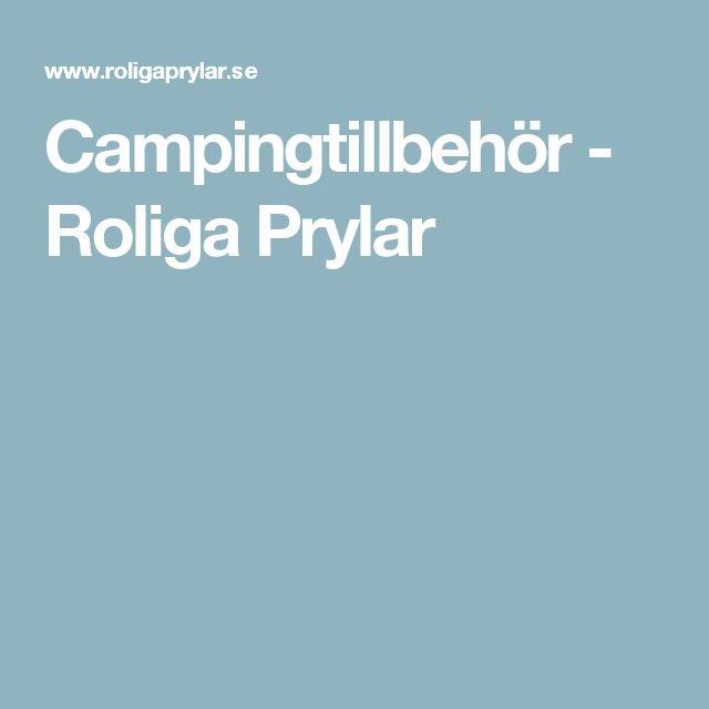 Campingtillbehör - Roliga Prylar