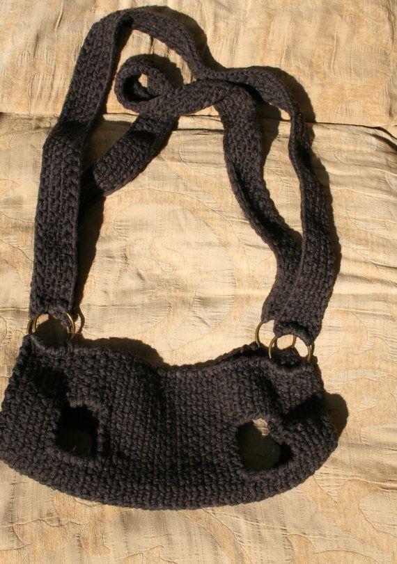 Pet carrier / Crochet dog carrier / BubaDog pet van BubaDog op Etsy