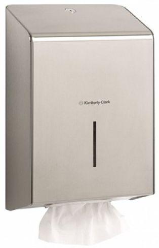 Dispensere Kimberly Clark Gama Luxury, otel inoxidabil. http://www.consumabile-eu.ro/index.php/dispenser/kimberly-clark/dispenser-prosoape-maini2013-04-10-13-05-48/dispenser-kimberly-clark-profesional-cod-8971-detail
