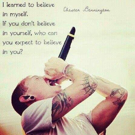 Chester Bennington quote