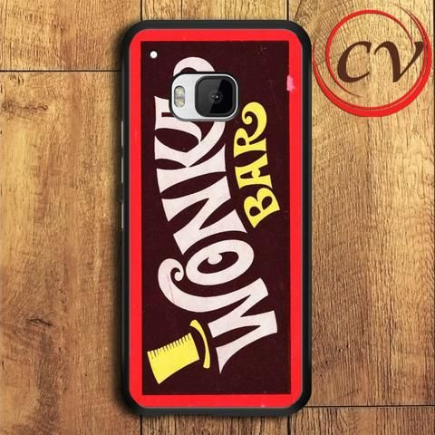 Wonka Bar HTC One M9 Black Case