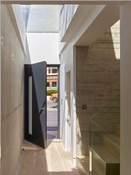 Triple glazed FG #skylights for enhanced thermal performance and solar heat gains. Architects: Richard Dudzicki Associates Ltd | Timothy Soar photographer