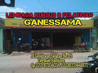 Kursus & Pelatihan Target Siap Kerja Usaha Mandiri Lkp Ganessama Bandung: Kursus Terbaik di Bandung, LKP GANESSAMA Jln Gedeb...