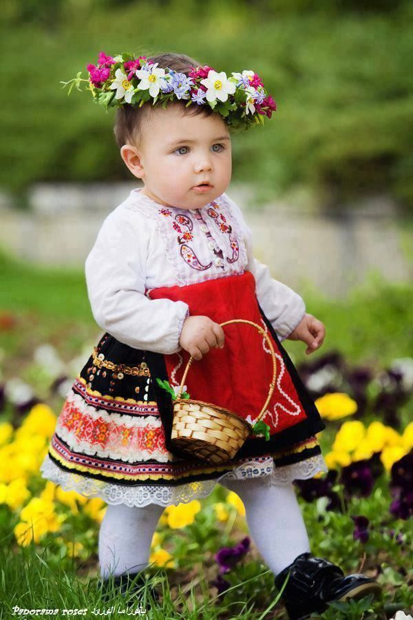 A baby from Bulgaria