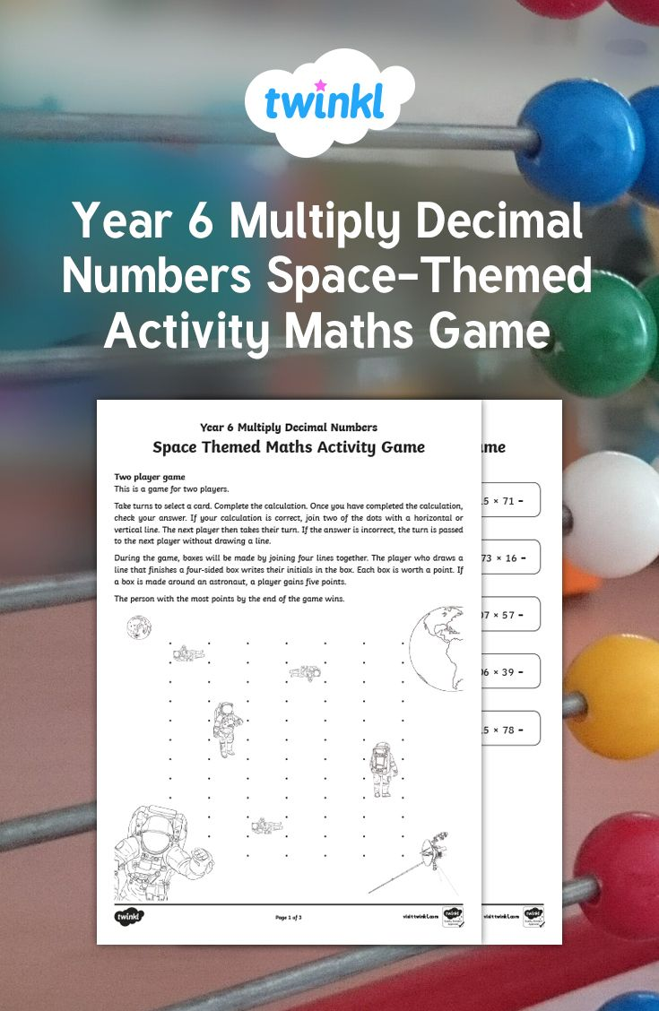 Best 25 one decimal place ideas on pinterest math charts place use this fabulous space themed game to multiplying one digit numbers with up to two decimal places by whole numbers a great way to develop mathematical nvjuhfo Gallery