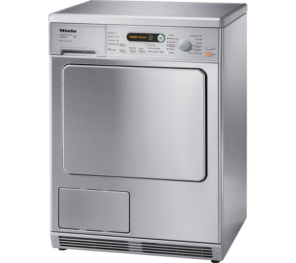 Buy MIELE T8828 Condenser Tumble Dryer - Stainless Steel | Free Delivery | Currys