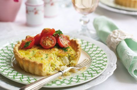 Crab and saffron tarts recipe