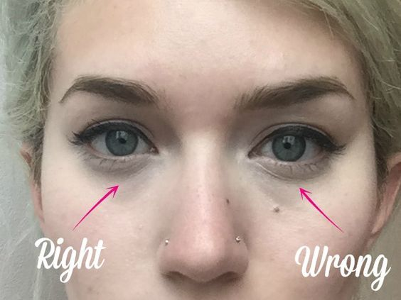 How to Stop Under Eye Concealer From Creasing - Concealer Trick for Dark Circles