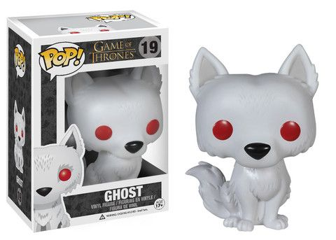 I want it!! Pop! TV: Game of Thrones - Ghost | Funko