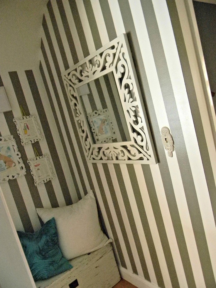 How To Paint A Hallway 19 best striped hallway images on pinterest | striped hallway
