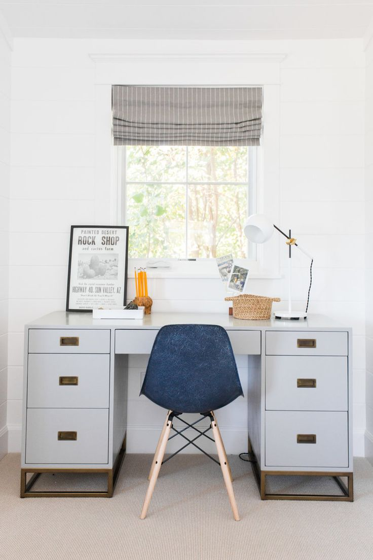 Boyu0027s room desk area Studio McGee