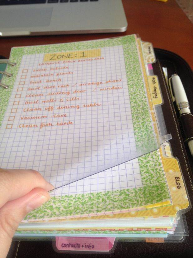 I've been wanting to do a comprehensive look at how I'm using the DIYfish inserts, but I've had a few requests for a post about how I use my filofax to help me organise my flylady household goals s...