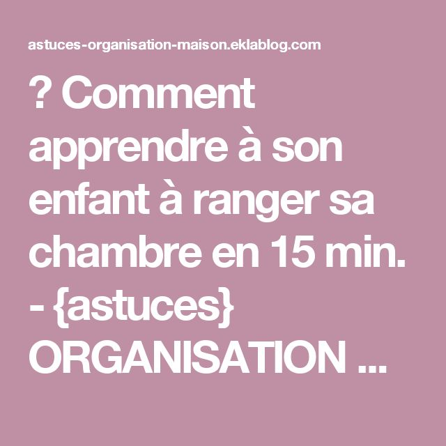 17 Best Ideas About Ranger Sa Maison On Pinterest