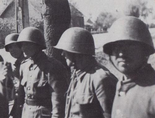 ethnic polish soldiers of the ukrainian nationality captured by germans in september 1939, Pultusk-Poland