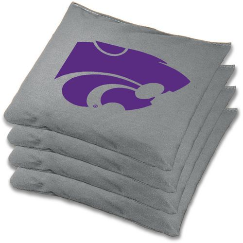 Wild Sports Kansas State University Beanbag Set Grey - Outdoor Games And Toys, Outdoor Games at Academy Sports