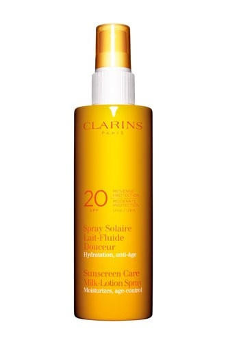 Clarins-Sunscreen-Spray: Favorite Places