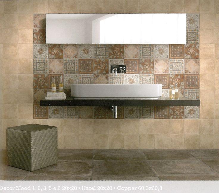 Maxi badkamer 2 met een speelse tegel op de wand voor variatie en kleur.