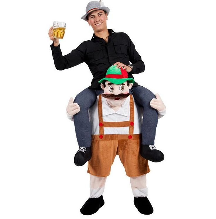 2017Funny Cosplay Carry Me Oktoberfest Fancy Pants Fancy Dress Up Party Costume Cute Costume Adult Children Mascot Costume