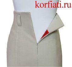 Правильно вшитая потайная молния не видна в шве платья. Обычно, потайную молнию вшивают в средний шов спинки платья или юбки. Но можно вшить потайную молнию