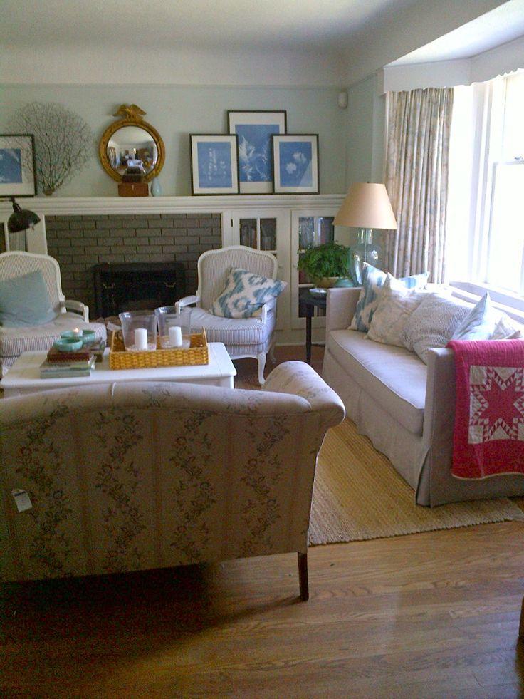 Furniture Arrangement Our Living Room Pinterest Sofa