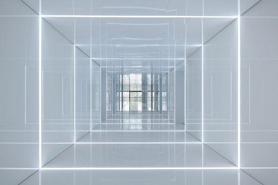 Shanghai studio AIM Architecture has designed the office for Soho China, the property developers behind Zaha Hadid's Galaxy Soho.